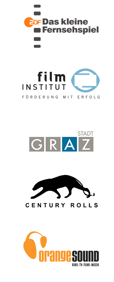 Partner ZDF, Film Institut, Stadt Graz, Century Rolls, Orange Sound